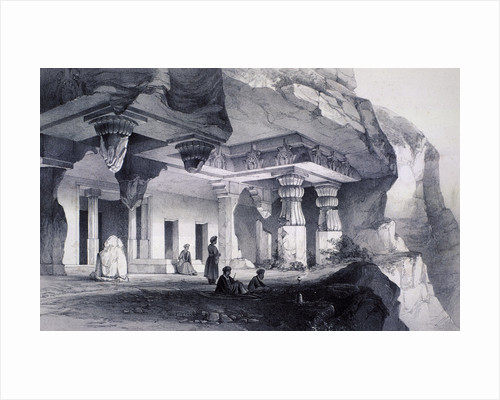 Ajunta (sic), Vihara Cave Number Seven by Anonymous