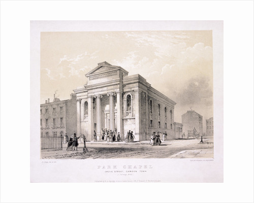 Park Chapel, Camden Town, London by Edwin Thomas Dolby