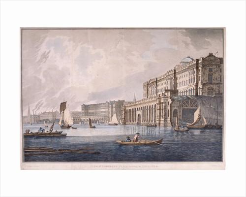 Somerset House, London by Joseph Constantine Stadler