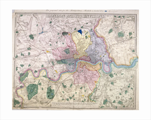 General Map of London by Anonymous