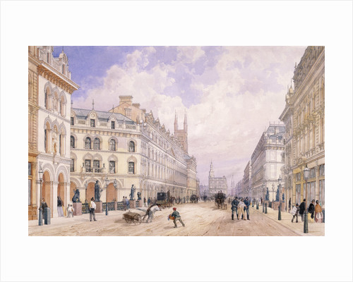 Holborn Viaduct, London by Thomas Shotter Boys