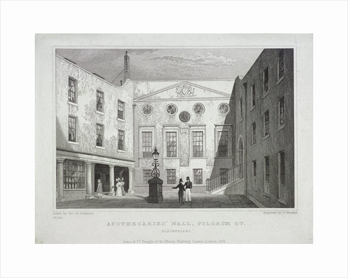 Apothecaries Hall, London by J Hinchcliff