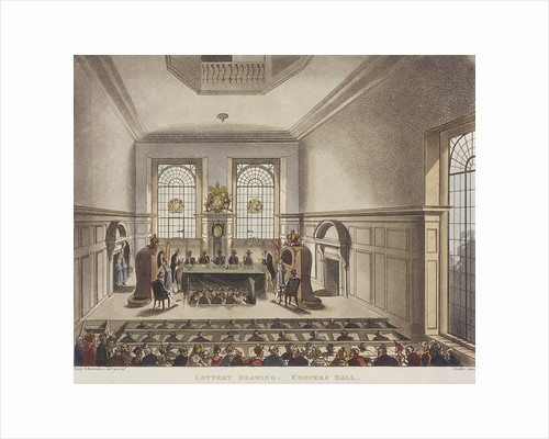 Apothecaries' Hall, London by J Hinchcliff