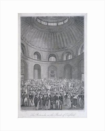 Bank of England, Threadneedle Street, London by E Edwards