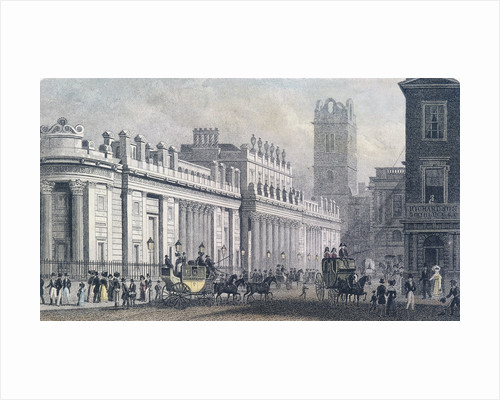 Bank of England, Threadneedle Street, London by Anonymous
