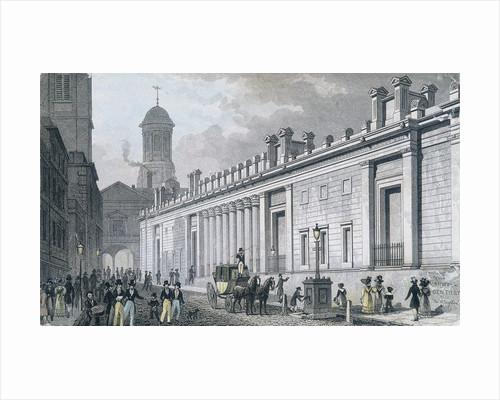 Bank of England, Threadneedle Street, London by W Wallis