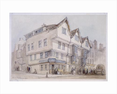Bevis Marks, London by Thomas Colman Dibdin