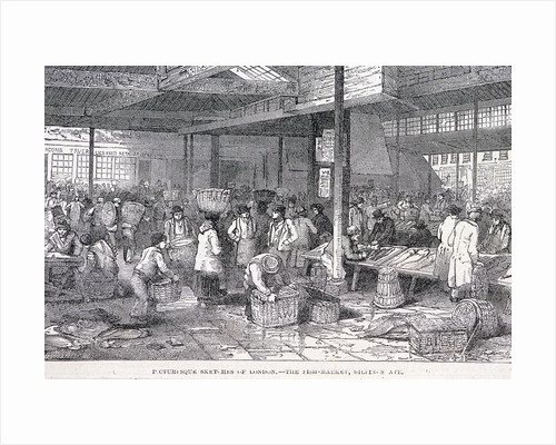Billingsgate Market, London by James B Allen