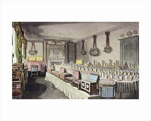 Alexander Ross's Ornamental Hair and Perfumery Warehouse, Bishopsgate, London by Anonymous