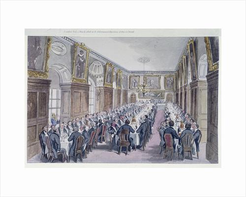 Bridewell Hall, London by Thomas Hosmer Shepherd