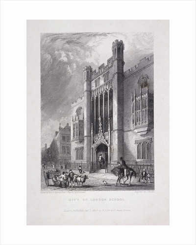 City of London School, London by Anonymous