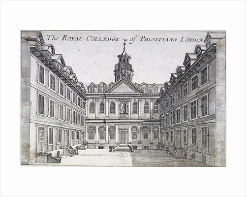 College of Physicians, London, c1710 by Corbis