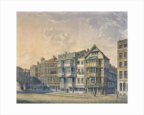 Fleet Street, London, 1798 by William Capon