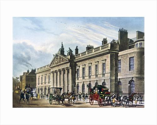 East India House, London by Thomas Hosmer Shepherd