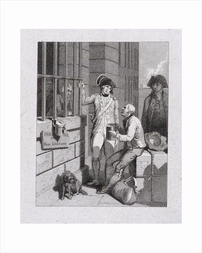 A whistling shop : Tom & Jerry visiting Logic, on board the Fleet, Fleet Prison, London by English School