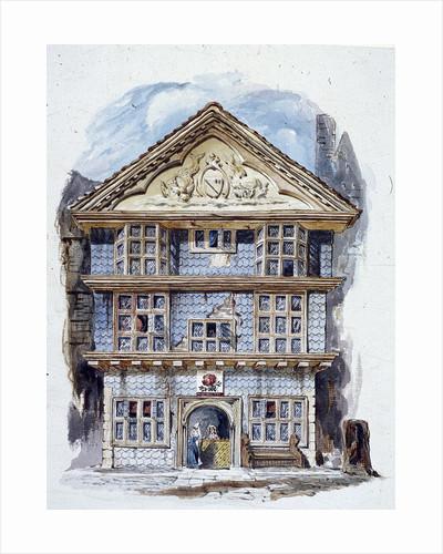 The Rose Tavern, Fenchurch Street, London (1805?) by C Matthews