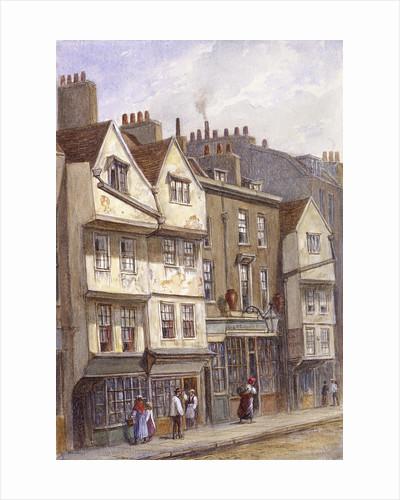 Fetter Lane, London by George C Leighton