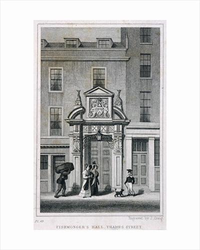 Fishmongers' Hall, Thames Street, London by J Greig