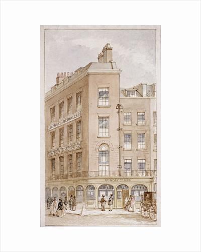 nos 103-104 Fleet Street, London by James Findlay