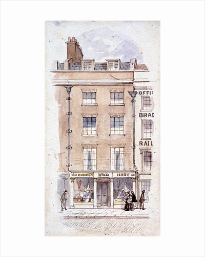 Howes and Hart, Fleet Street, London by James Findlay