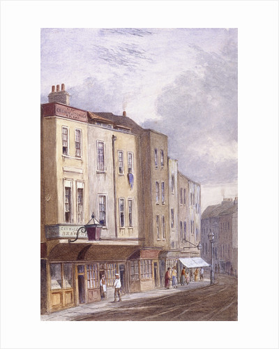 Crown and Coopers' Arms, Golden Lane, London by Anonymous