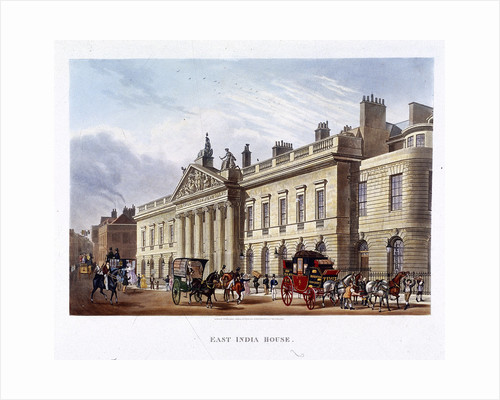 East India House, London by Joseph Constantine Stadler