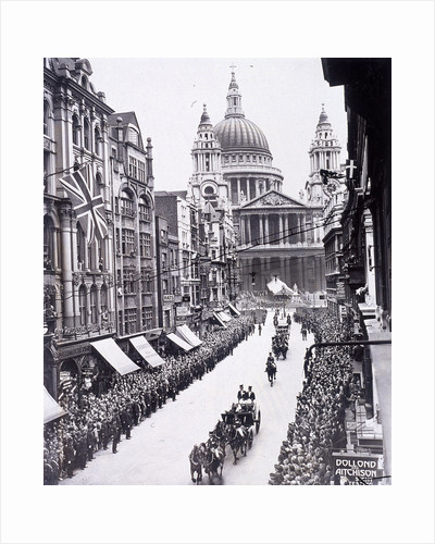 Re-opening of St Paul's Cathedral, London by Thomas Malton II