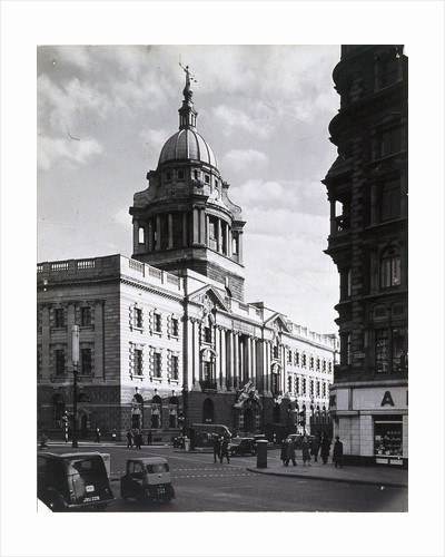 Old Bailey, Central Criminal Court, London by Anonymous