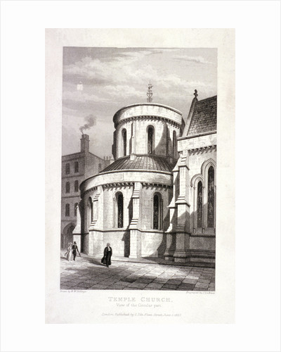 Temple Church, London by James Newton