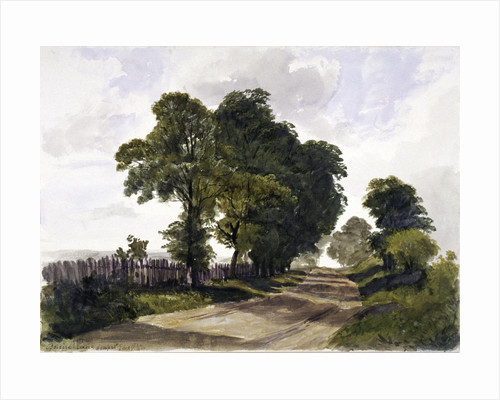 Belsize Lane, Hampstead, London by Edmund Marks