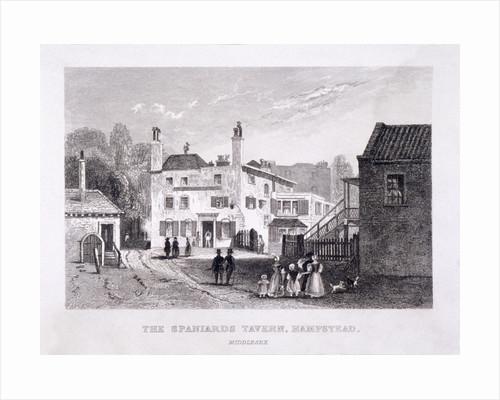 The Spaniards Inn, Hampstead Heath, Hampstead, London by John Cawthorn