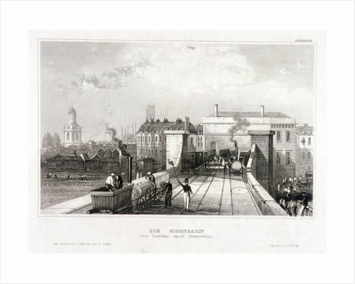 Greenwich Station, Greenwich, London by Anonymous