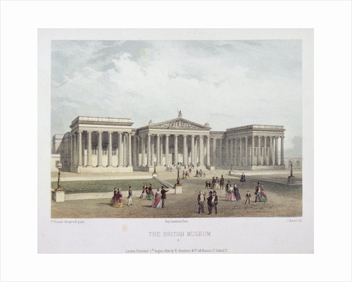British Museum, Holborn, London by Jules Louis Arnout