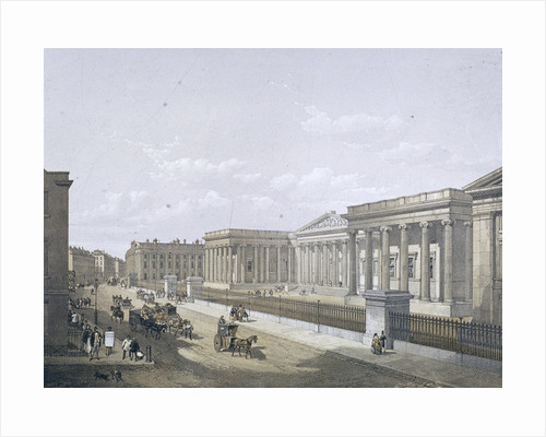 British Museum, Holborn, London by William Angus