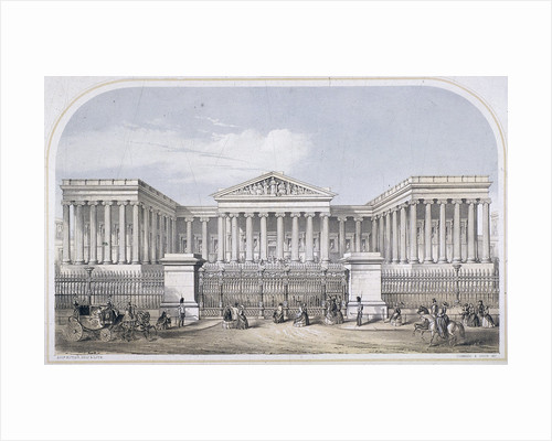 British Museum, Holborn, London by Augustus Butler