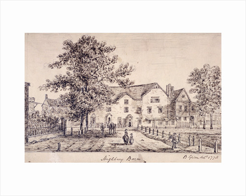 Highbury Barn, Islington, London by Boëtius Adamsz. Bolswert