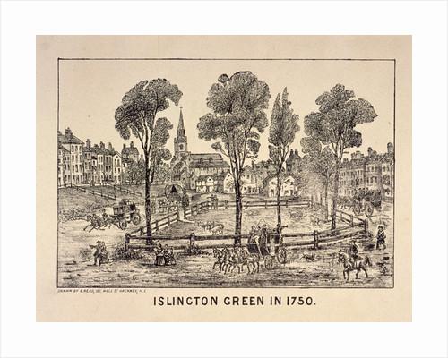 Islington Green, London by Anonymous