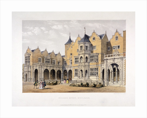 Holland House, Kensington, London, c1850? by Day & Son