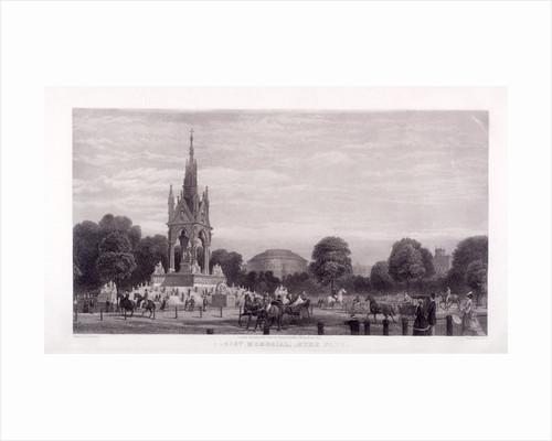 Albert Memorial, Kensington, London by Thomas Abiel Prior