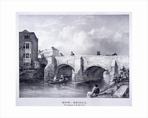 Bow Bridge, Poplar, London by G Yates