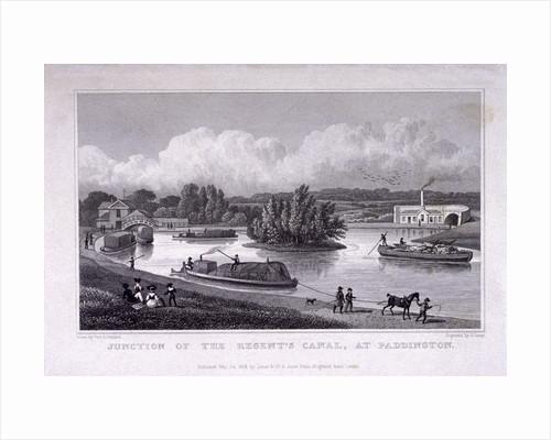 Regent's Canal, Paddington, London by S Lacey