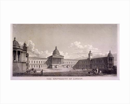 The University of London, Gower Street, St Pancras, London by W Wallis