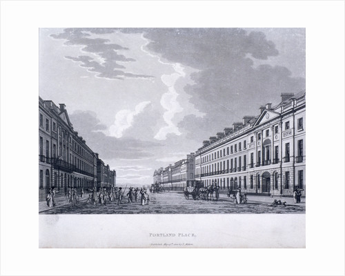Portland Place, Marylebone, London by Anonymous