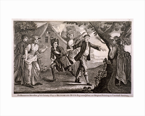 The Humorous Diversion of the Country Play at Blindmans Buff, Vauxhall Gardens, London by Anonymous