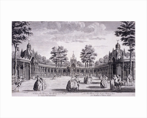 Vauxhall Gardens, Lambeth, London by Thomas Bowles