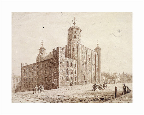 Tower of London, London by Frederick Nash