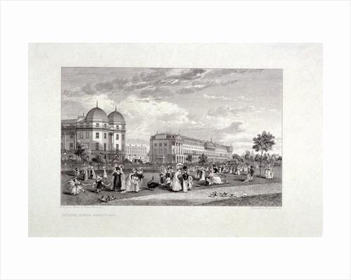 Hanover Terrace, Regent's Park, London by William Harvey