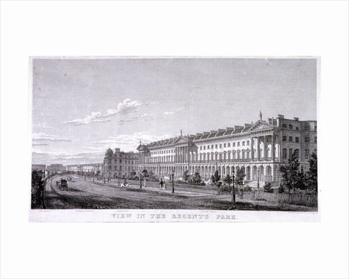 Regent's Park, Marylebone, London by Thomas Higham