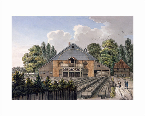 Cuper's Gardens, Lambeth, London by Charles Tomkins