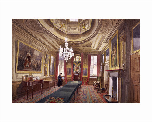Interior of the Barber Surgeons' Hall, London by John Crowther